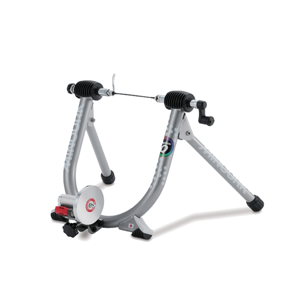 Minoura Mag Ride Q Trainer: Silver - Perfect for Wide Range of Training Session Types