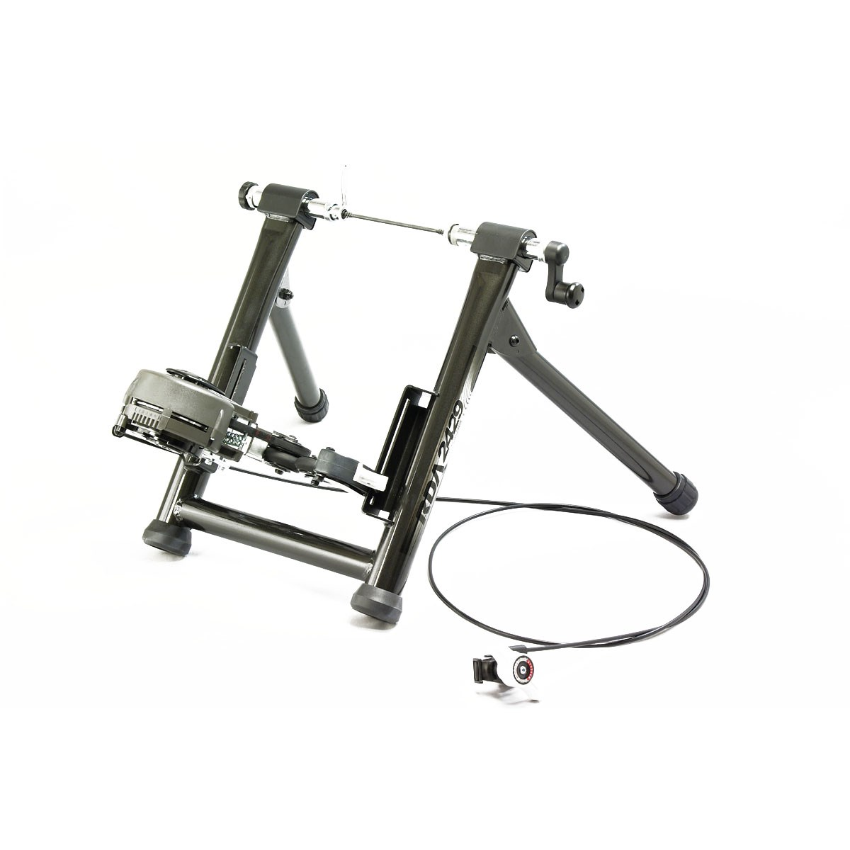 Minoura RDA 2429 Rim Drive Trainer: Compatible with Knobbly MTB Tyres